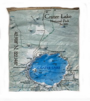 Bana Crater Lake Map