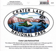 Crater Lake Decal