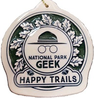 National Park Geek - Ornament Limited Edition