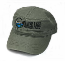 Hat Crater Lake National Park Military Style