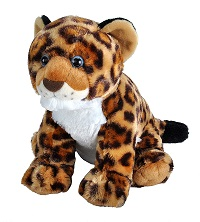Large Jaguar Cub Plush