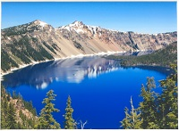 Crater Lake Matted Print