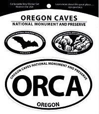 Sticker - Oregon Caves 3 Part