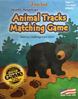 Animal Tracks Matching Game