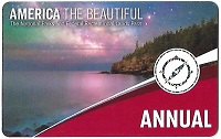 Annual America The Beautiful Inter-agency Park Pass 2020 - 2021