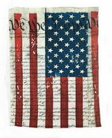 McGovern Maps Bana American Flag and US Constitution