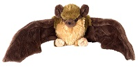Little Brown Bat Plush Sitting