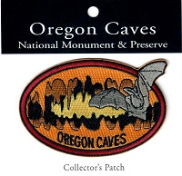 Patch - Oregon Caves Embroidered