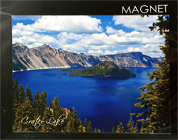 Magnet - Crater Lake - Wizard Island