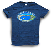 Concept 360 T-Shirt - Crater Lake Oval