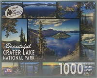 1000 Piece Crater Lake Views Jigsaw Puzzle