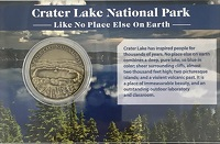 Coin-Crater Lake/Oregon Caves 2 Sided