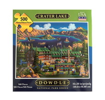 Crater Lake Puzzle Dowdle National Park Series
