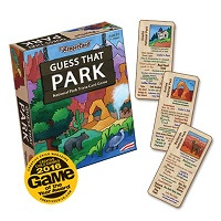 Haywood Studios Card Game Guess That Park