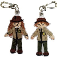 Jr. Ranger Key Clip - Oregon Caves