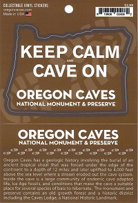 Sticker - Keep Calm and Cave On Oregon State