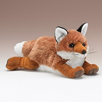 Large Red Fox Plush