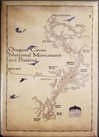 McGovern Maps Magnet - Oregon Caves Map