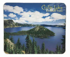 Crater Lake Mouse Pad