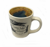 Mug Crater Lake Map