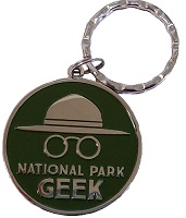 National Park Geek - Key Chain