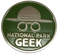 National Park Geek Logo - Lapel Pin