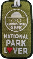 National Park Geek - Luggage Tag