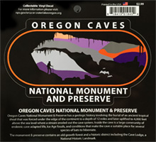 Sticker - Oregon Caves