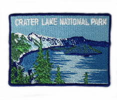 Crater Lake Square Patch