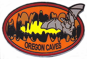 Lapel Pin - Oregon Caves