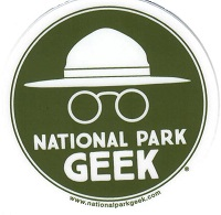 Sticker -National Park Geek Round Logo