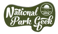 Sticker - National Park Geek Script