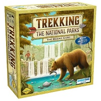 Trekking the National Parks - 2nd ED - Family Board Game