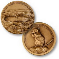 Coin- Crater Lake Bronze Coin