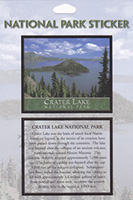 Crater Lake National Park Passport Sticker