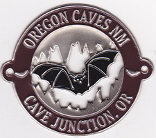 Hiking Stick Medallion- Oregon Caves Bat