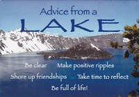 Your True Nature Magnet- Advice from Crater Lake