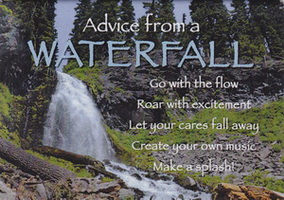 Your True Nature Magnet- Advice from a Waterfall Plaikni Falls