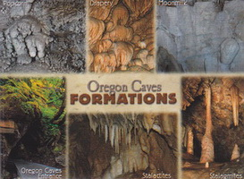 Impact Photographics Magnet - Oregon Caves Formations