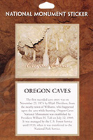 Oregon Caves National Monument Passport Sticker
