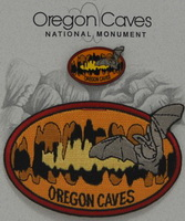 Patch and Pin set Oregon Caves