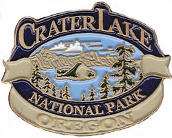 Lapel Pin- L.W. Bristol Design of Crater Lake