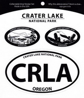 Sticker- Crater Lake 3 Part