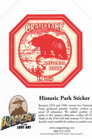 Sticker- Historic Park Sticker