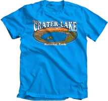 Concept 360 T-Shirt Crater Lake Blues Youth